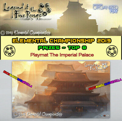 L5R LEGEND OF THE FIVE RING 2019 ELEMENTAL CHAMPIONSHIP -Playmat Imperial Palace