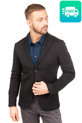 RRP €145 MARCIANO GUESS Blazer Jacket Size 50 / L Single Breasted Notch Lapel