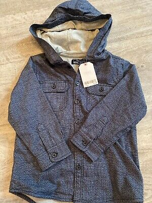 Next Denim Hooded Jacket Size 2-3 Years - BNWT