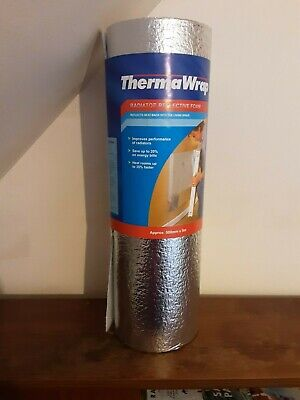 Therma Wrap radiator reflective foam. 500mm × 5m.