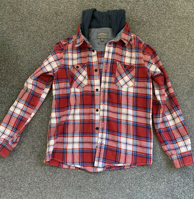 Fat Face Mako Check Shirt Boys 12-13 Years. Long Sleeve, Great Condition