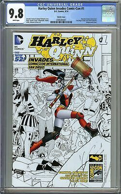 Harley Quinn Invades Comic-Con #1 CGC 9.8 NM/MT Margot Robbie BIRDS OF PREY