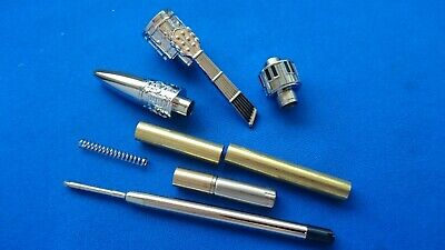 Woodturning Pen Kits - MELODY Pen kits - Chrome x 1