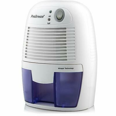 Pro Breeze 500ml Compact and Portable Mini Air Dehumidifier for Damp, Mould