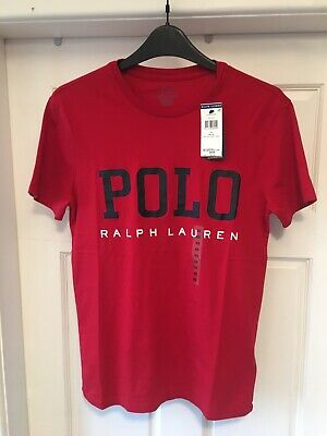 Boys/Mens New POLO RALPH LAUREN Size XSmall Red TSHIRT