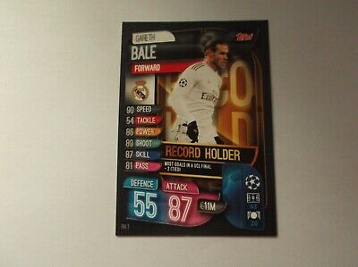 Topps Match Attax Extra Champions League 19//20 Rh 1 Record Holder Bale