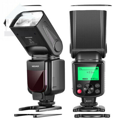 Neewer NW635 TTL GN58 Flash Speedlite with LCD Display Compatible