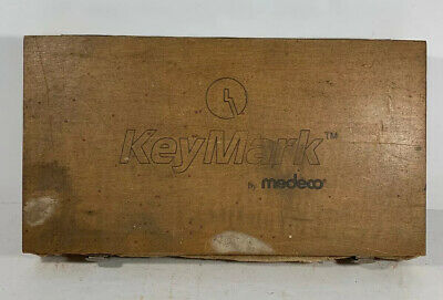 Medeco KeyMark K-4001 A-2 INTERCHANGEABLE  CORE Locksmith WOOD Pinning Kit