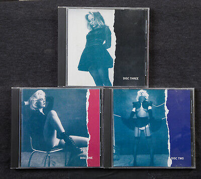 3 CD Set Stiletto Vamp Dressed To Kill Goth Cure Sisters of Mercy Lydia Lunch