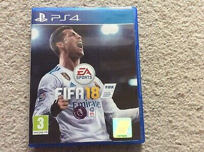 PS4 Fifa 18 - Excellent Condition