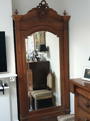 French 19th Century Walnut single door Amoire