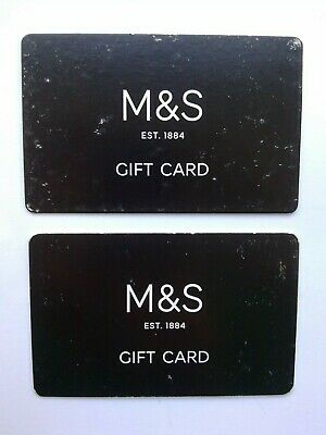 MARKS & SPENCER GIFT CARDS £50 - 1 x £40 & 1 x £10