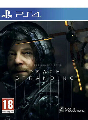Death Stranding PS4 NEW And Sealed Free 🚛