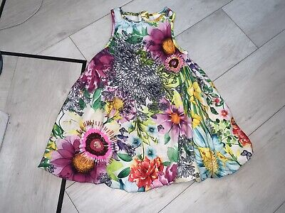 Girls Next Floral Embellished Dress Age 3 Years Vgc