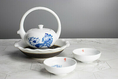 5 Piece Set Chinese Crescent Kung Fu Tea Set Home Office Decor Gift