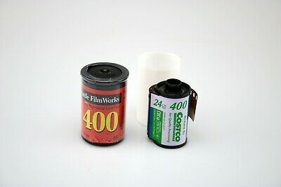 Lot of (2) Expired Rolls 400 iso 35mm Color Print Film Fuji & Seattle Filmworks