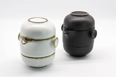 Chinese Ceramic Travel Tea Set With Pouch Kung Fu Tea Home Office Gift