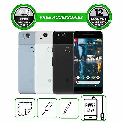 Google Pixel 2 64GB Unlocked SIM Free Android Smartphone in All Colours