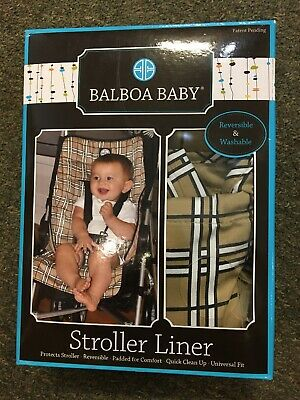 Stroller Liner - Padded, Universal Fit - by Balboa Baby