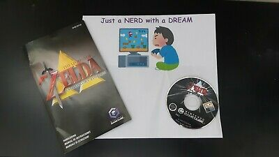 The legend of zelda collector's Edition Gamecube Disk And Manual - Pal