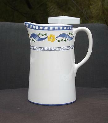 Tiffany & Co. Trellis Hand Painted Colorful Pitcher Portugal Mint Condition