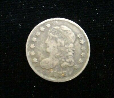 Liberty Nickel 5 Cent US Coin 1832 Capped Bust Half Dime - 965,000 minted