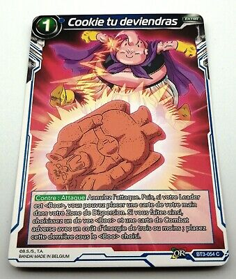 CARTE DBS BT3-054 C Les mondes croisés Dragon Ball Super Card Game