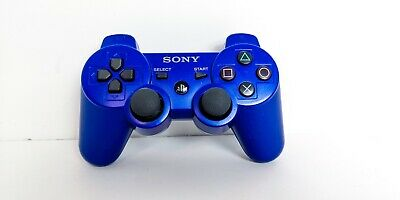 OEM  Sony PS3 Dualshock Controller Blue CECHZC2U Sixaxis Tested