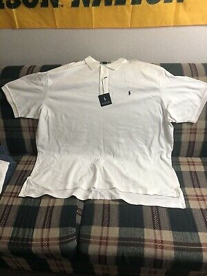 Polo by Ralph Lauren Men's Short Sleeve Polo Shirt Size: 4XL-B