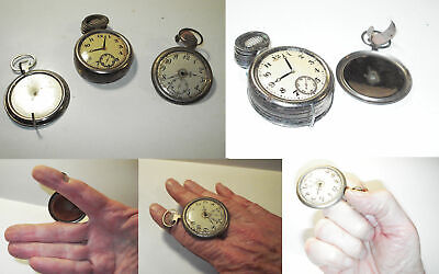 Pocket Watch production set-Total of 12 watches-Early 1900s-FINE-Af