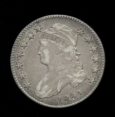1821  **  VF++  Very Fine++  **  Capped Bust Half Dollar (703-311*)