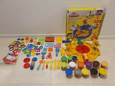 USED Play-Doh Art Craft Creation Station Kitchen Cooking Toy