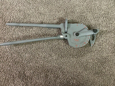 "Ridgid No 368 Manual Pipe Tube Bender Geared Ratchet 3/4"" OD *New W/O Box*"