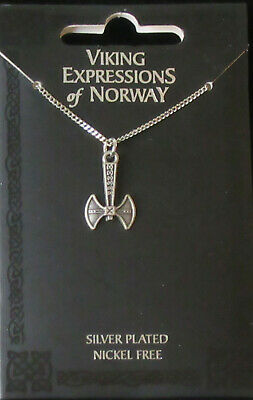 Scandinavian Swedish Norwegian Danish Finnish Viking Thor's Hammer Pendant New