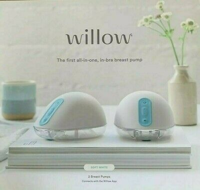 Willow 2.0 Wearable Double Electric Breast Pump - NEW IN BOX & SEALED -