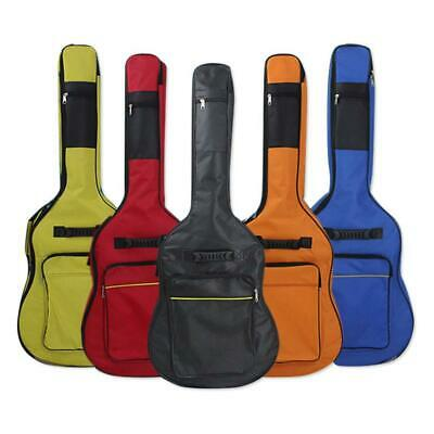 Black Padded Full Size Acoustic Classical Guitar Bag Case Cover High Quality