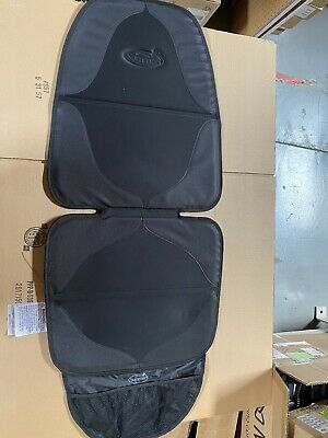 Summer Elite Duomat Car Seat Protector Black - Premium Waterproof Seat Cover Pad