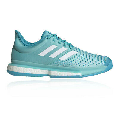 Adidas Hombre Solecorte Boost Parley Tenis Zapatos Azul Deporte Transpirable