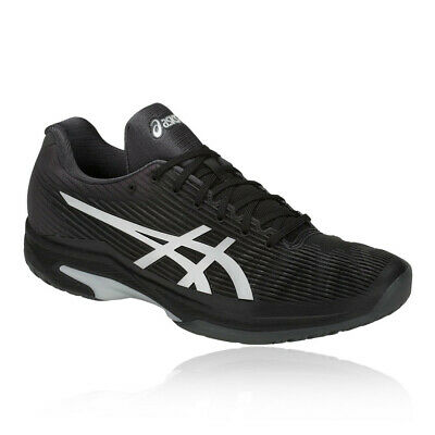 Asics Hombre Gel-solution Speed Ff Tenis Zapatos Negro Deporte Transpirable