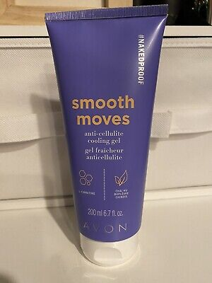Avon Naked Proof Smooth Moves Anti-Cellulite Cooling Gel  6.7 oz   Brand New