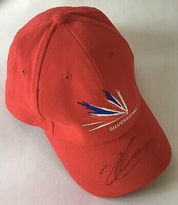 Charles Leclerc Authentic Signed F1 Silverstone Cap Aftal #198