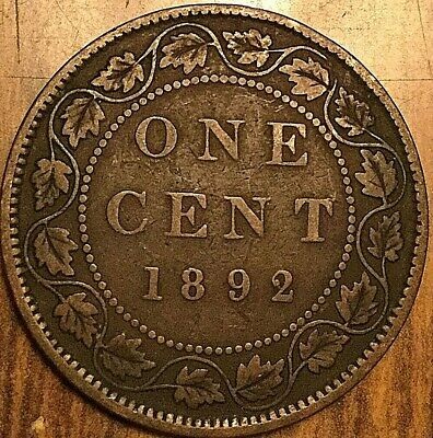 1892 Canada Large 1 Cent