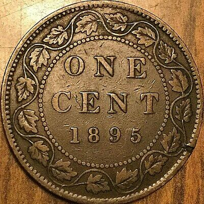 1895 Canada Large 1 Cent