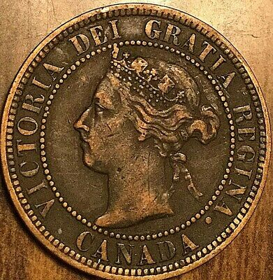 1900 H Canada Large 1 Cent