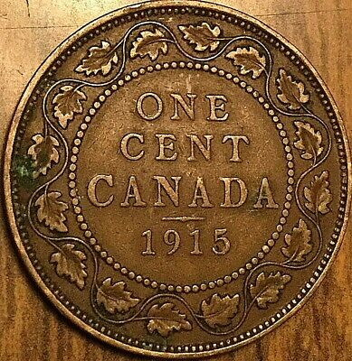 1915 Canada Large 1 Cent