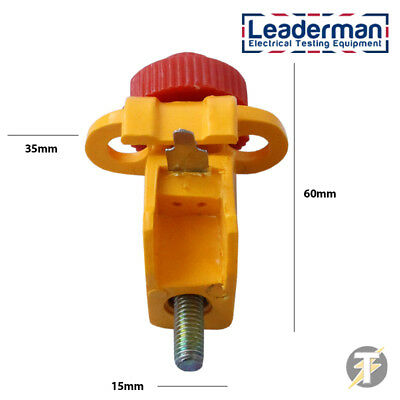 Leaderman Circuit Breaker Lockout Isolation Device With Tie Bar LDMLOK7