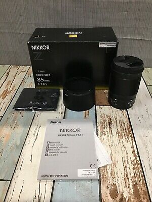 2019 Nikon Single Focus Lens Nikkor Z 85Mm F / 1.8S Z Mount