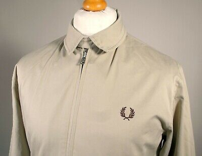 Fred Perry Stone Caban Harrington Jacket - S/M - Ska Mod Scooter Terraces Skins