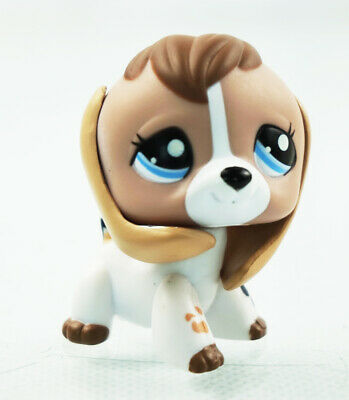 Littlest Pet Shop LPS 366 Hasbro Christmas Red Beagle Dog Gift Puppy Toy Cute