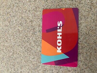 Kohl's $20 Gift Card Physical Card Mailed
